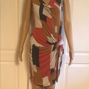 New York & Co color block sleeveless dress